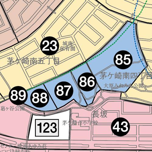 茅ケ崎南地図