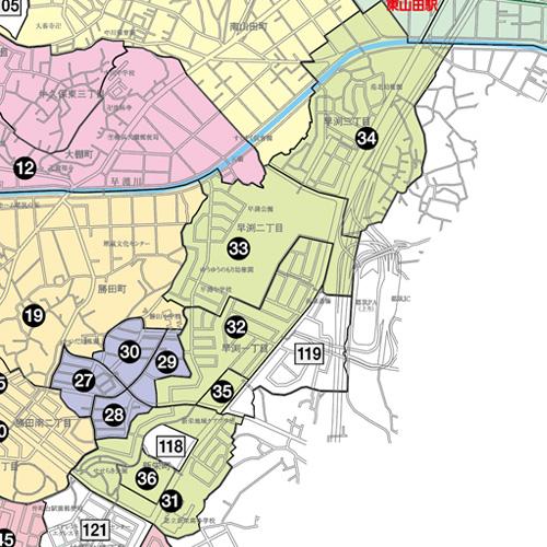 新栄早渕地図